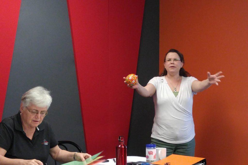 """Marie-Chantal Côté ... """"and the flying potato"""""""