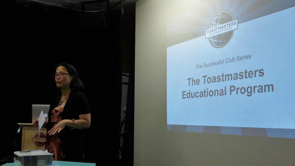 "Bonnie Mak, ""The Toastmasters Educational Program"""
