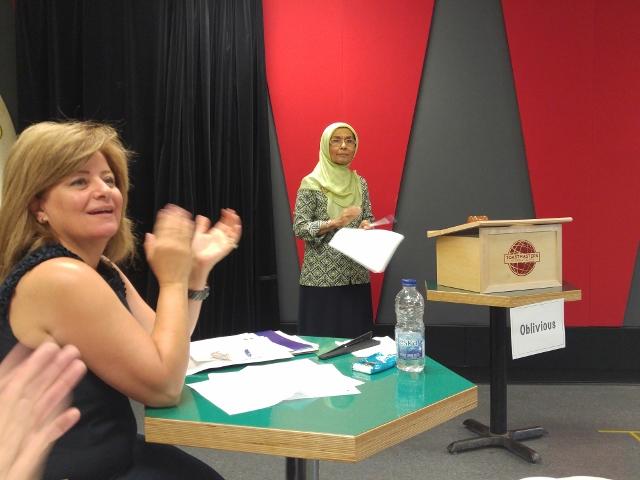 Shaheen Junaid, Delivery Evaluator for Sarah Lerner