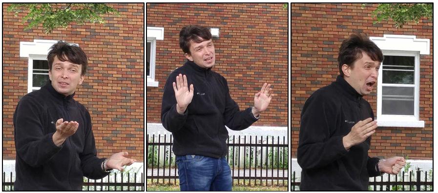 Artem Ploujnikov, Topicsmaster #1 ... voted Most Enthusiastic!