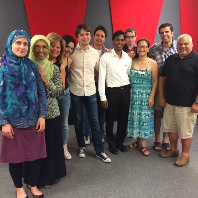 Group shot, thanks RoseLyn for taking the pic, and thank you everyone for making this such a FUN meeting!
