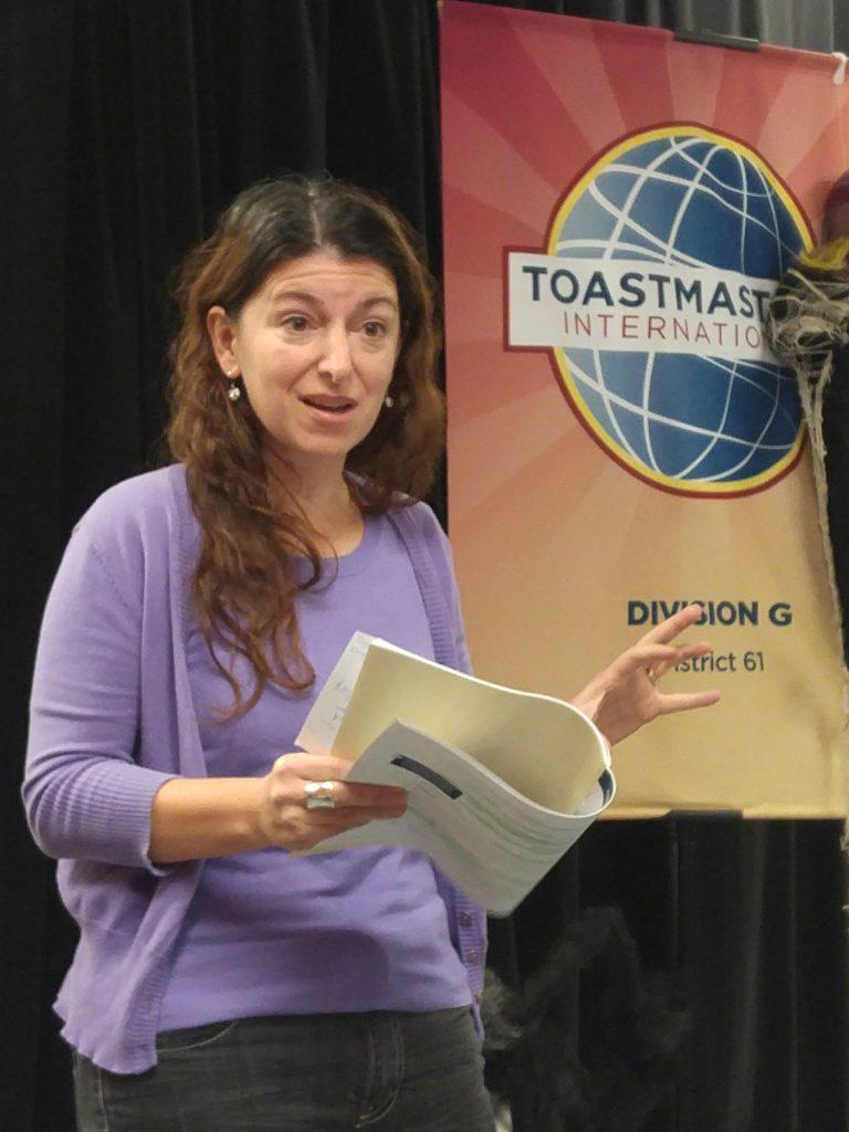 Antonella - Content Evaluator for David's speech